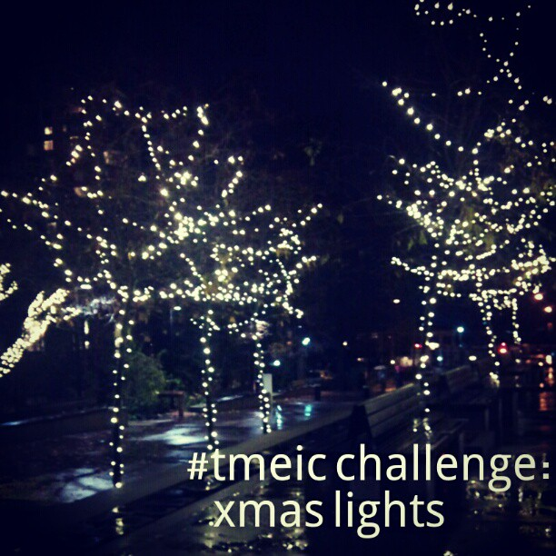 Through Mama's Eyes Instagram Challenge: Xmas Lights
