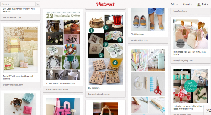 D.I.Y Gifts Pinterest Inspiration